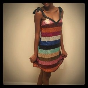 Simply gorgeous multi color dress